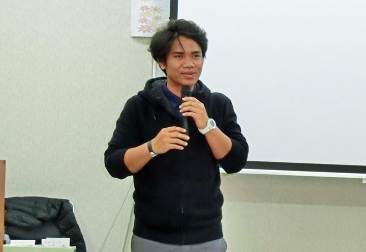 ナジブさん(マレーシア出身)