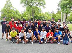 平成26年度OB会における集合写真